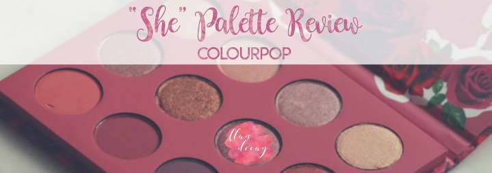 """She"" Palette Review – Colourpop Cosmetics (ESP/ENG)"