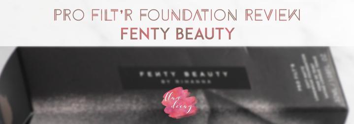 Pro Filt'r Soft Matte Longwear Foundation Review – Fenty Beauty(ENG/ESP)
