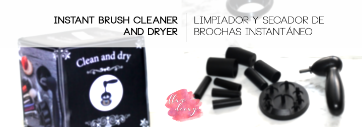 $9,50/9€ Electric Brush Cleaner and Dryer ~ Limpiador y Secador de Brochas Eléctrico (Review)