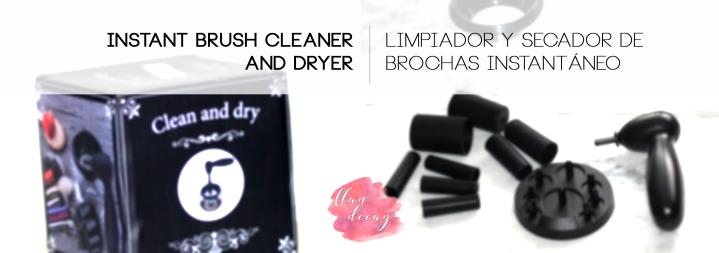 $9,50/9€ Electric Brush Cleaner and Dryer ~ Limpiador y Secador de Brochas Eléctrico(Review)