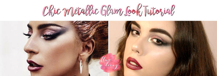Chic Metallic Glam Look – Tutorial (Sarah Tanno/Lady Gaga inspired)