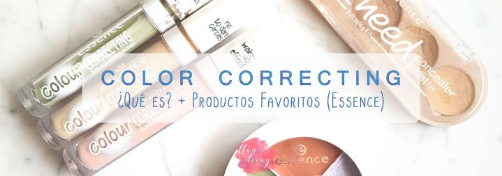 Color Correcting: ¿Qué es? + Productos Favoritos deEssence