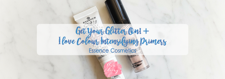 Get Your Glitter On! + I love Colour Intensifying Primers – Essence Cosmetics (RESEÑA/REVIEW)