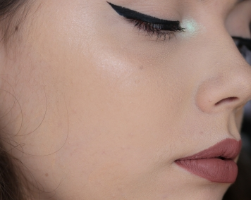 NYX Can't Stop Won't Stop Foundation Wear Test 1 - 1 hours