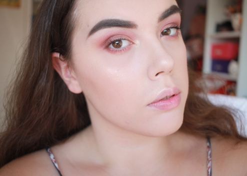NYX Can't Stop Won't Stop Foundation Wear Test 2 - 1 hour (4)