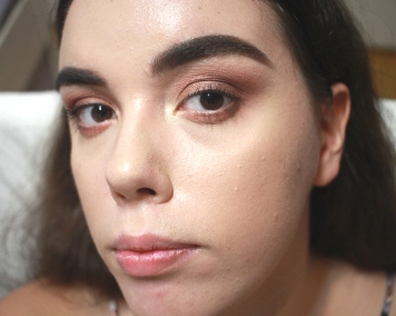 NYX Can't Stop Won't Stop Foundation Wear Test 2 - 9 hour (4)