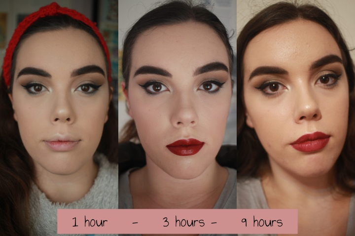 Conceal and Define Foundation Makeup Revolution Wear Test C6