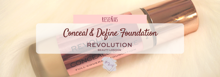 Conceal and Define Foundation Review Opinión Wear Test