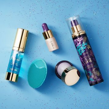 Mermaid Staycation Skincare Gift Sets Affordable Cruelty-free