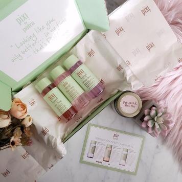 Pixi Beauty's Glow Tonic, Retinol Tonic and Rose Tonic