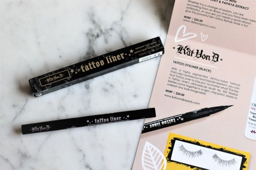 Kinder Beauty Subscription Box Tattoo Liner