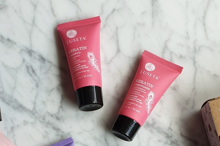 Luseta's Keratin Duo Travel Set