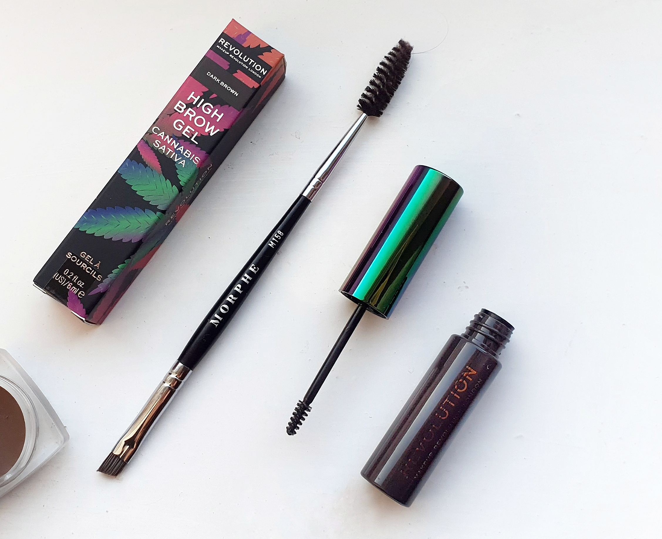 Makeup Revolution's Brow Gel in 'Dark Brown'