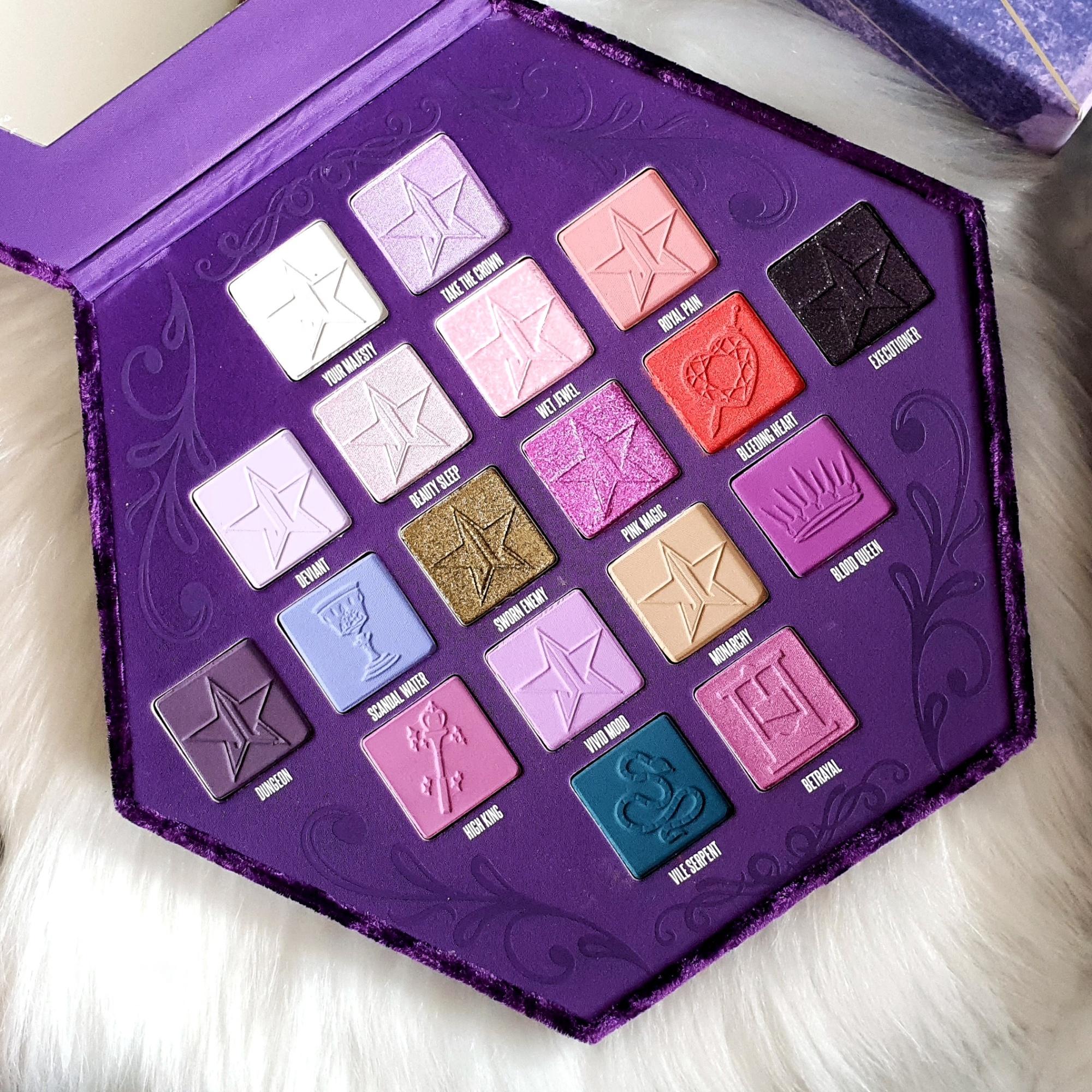 Jeffree Star Cosmetics' Blood Lust Palette Close-up