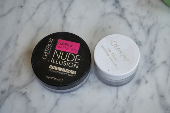 Nude Illusion Loose Powder (Catrice) & No Filter Setting Powder (Colourpop) - January to May 2020 Empties