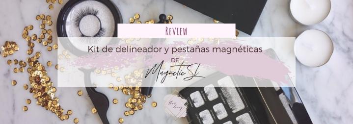 Kit de delineador y pestañas magnéticas de Magnetic SL(Review)