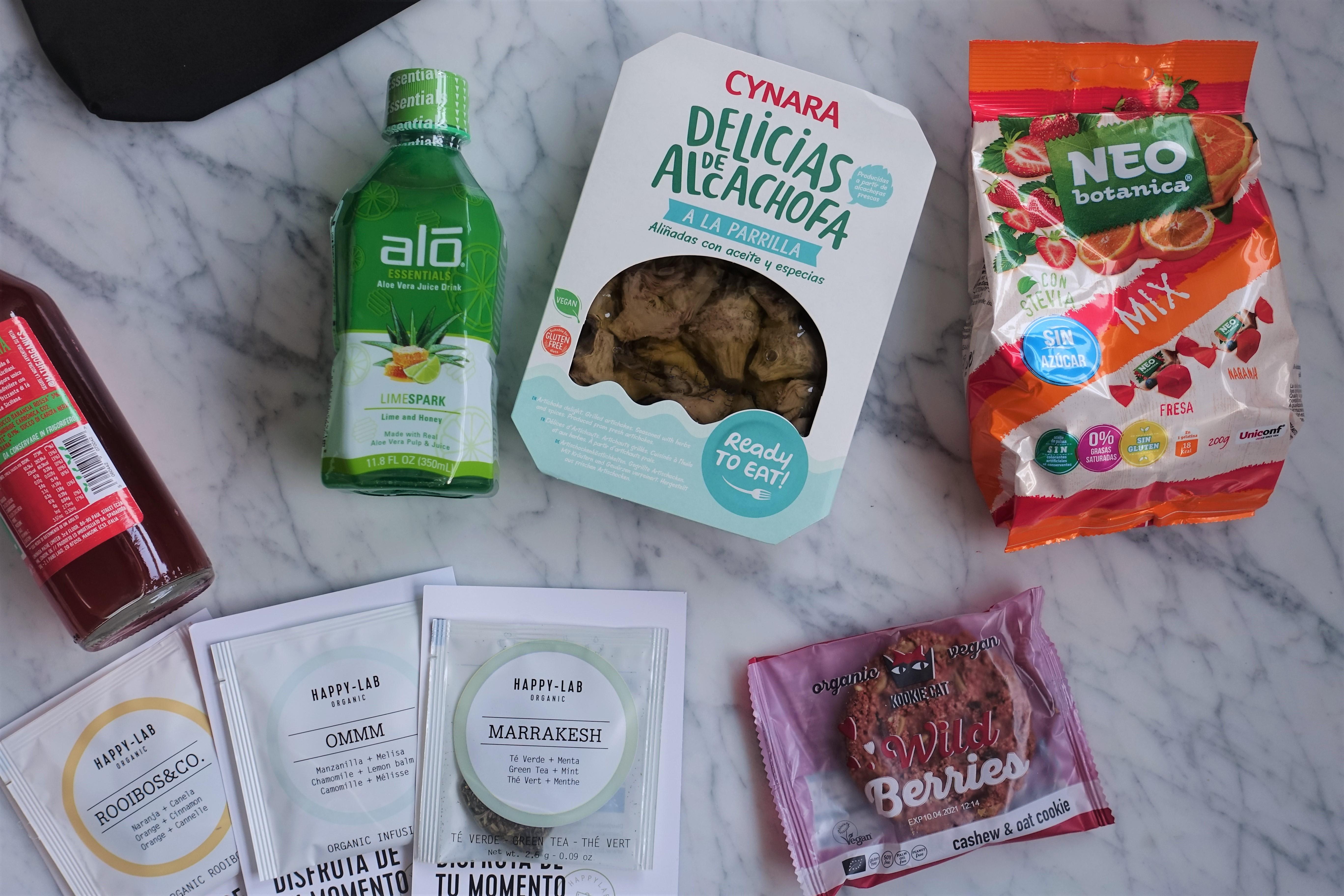 Productos de DietBox (Evento #YBB8ED de Girl Power Team)