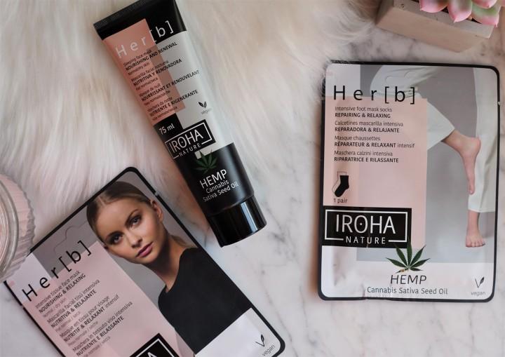 Productos de Iroha Nature - Colección Hemp (Evento #YBB8ED de Girl Power Team)