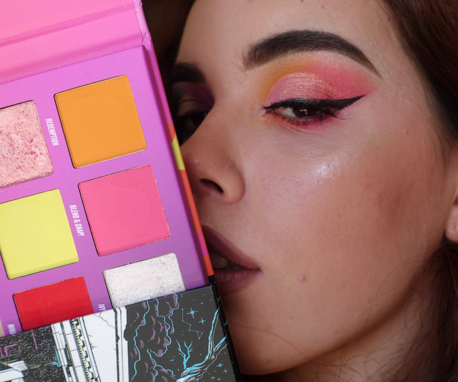 Nikkie Tutorials x Beauty Bay Pressed Pigment Eyeshadow Palette Review & Looks