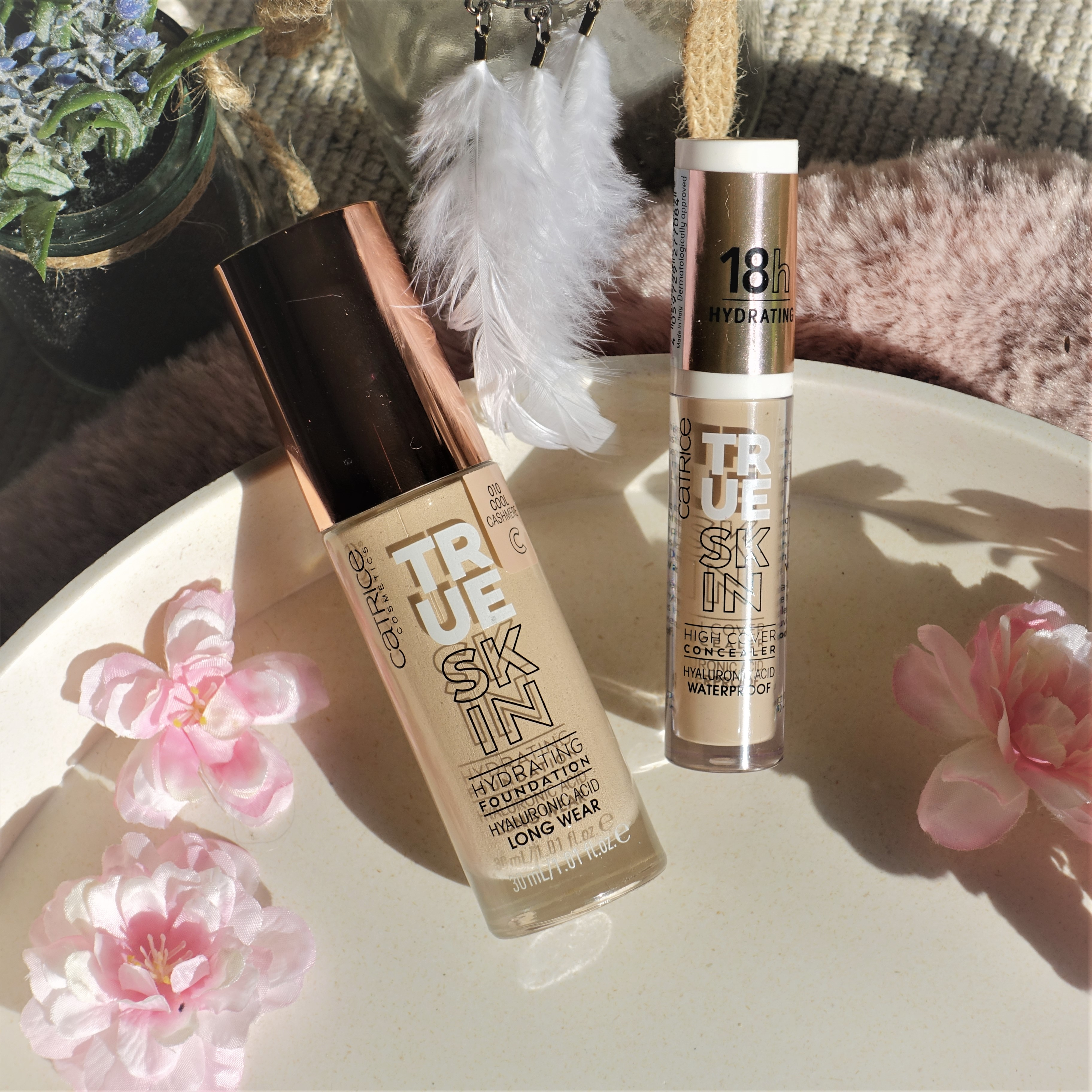 Catrice Cosmetics *It Pieces* Collection True Skin Foundation and Concealer with Hyaluronic Acid - Review and Wear Test
