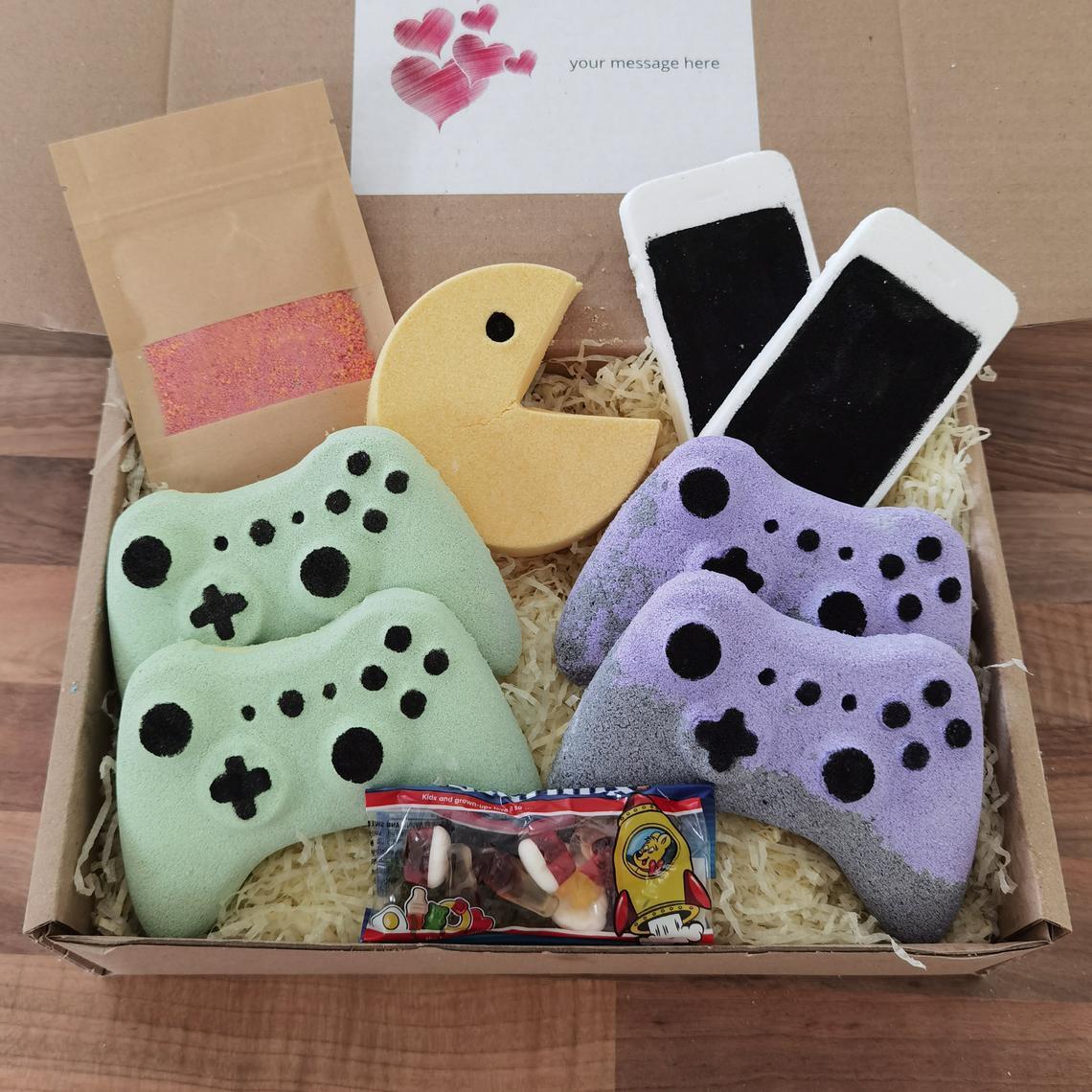 VBeautyCosmetic on Etsy: Controller Bath Bomb, Gamer, Bath Fizz, Vegan, Cruelty Free, Bath Fizzer, Bath Bomb Gift Set