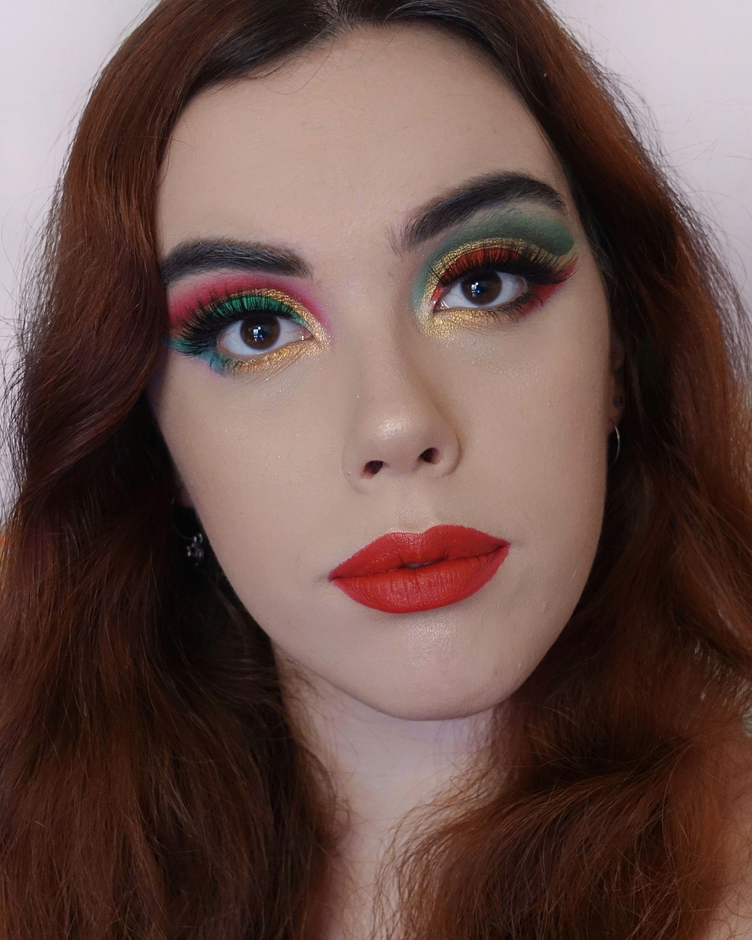 Christmas Makeup Look Idea (Blogmas Day 10)